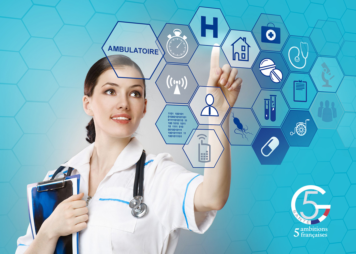 Infographie pour le forum des industries du médicment